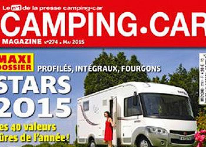 Camping-Car Magazine - Mai 2015