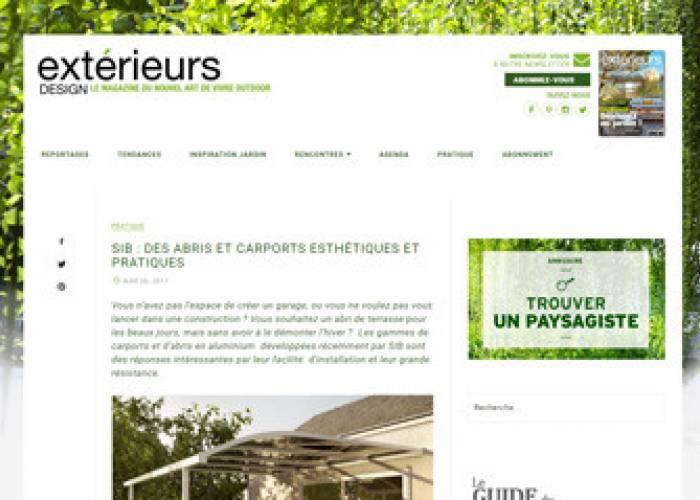 Exterieurs Design - 6 mars 2017
