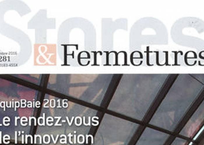 Stores & Fermetures - Novembre 2016