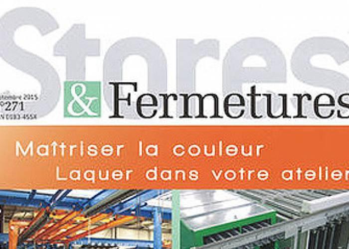 Stores & Fermetures - Septembre 2015