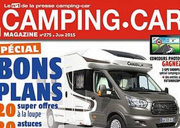 Camping-Car Magazine - Juin 2015